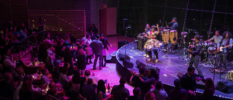 La Santa Cecilia performing at Lincoln Center's American Songbook 2016